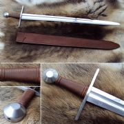 Norman Practice Sword With Scabbard